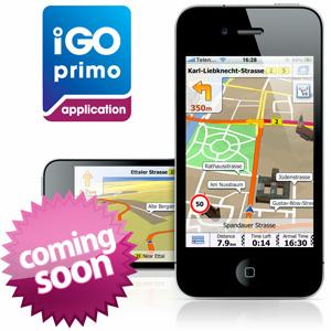 iGO Primo pre iPhone, iPad